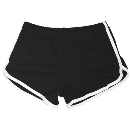 Black / White Woman's Shorts