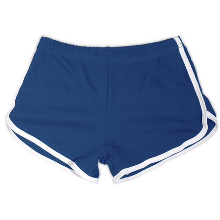 Navy / White Woman's Shorts