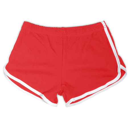 Red / White Woman's Shorts