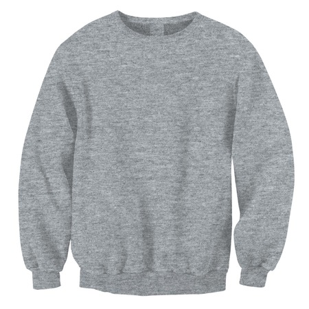 Medium Heather Grey Crewnecks