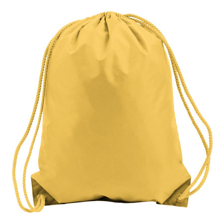 Bright Yellow Drawstring Bags