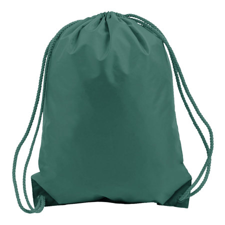 Forest Green Drawstring Bags