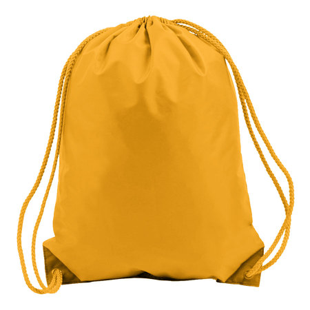 Golden Yellow Drawstring Bags