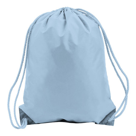 Light Blue Drawstring Bags