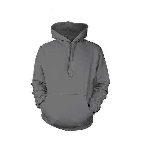 Charcoal Pull-Over Hoodies