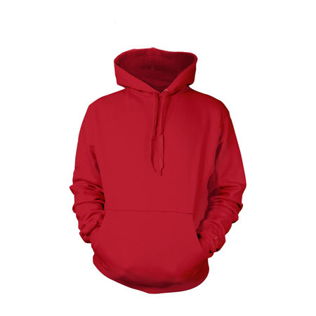 Cherry Red Pull-Over Hoodies