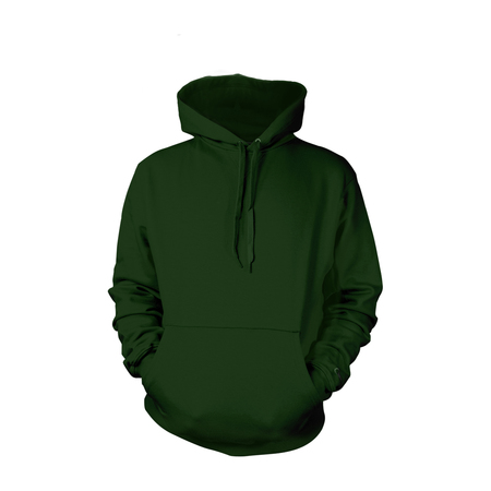 Forest Green Pull-Over Hoodies