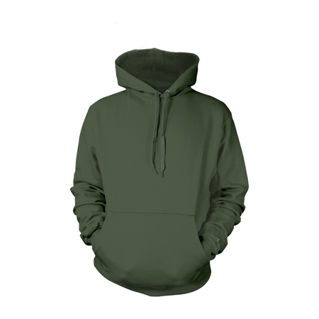 Military Green Pull-Over Hoodies