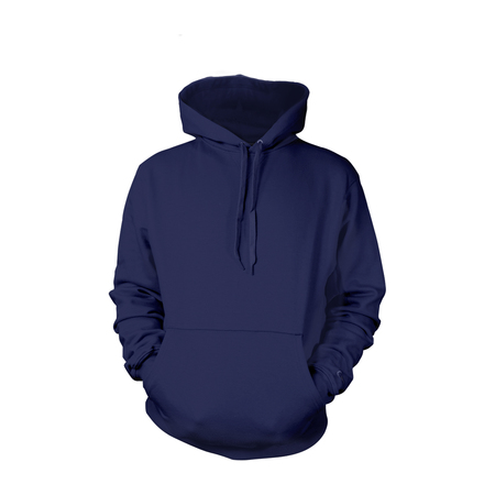 Navy Pull-Over Hoodies