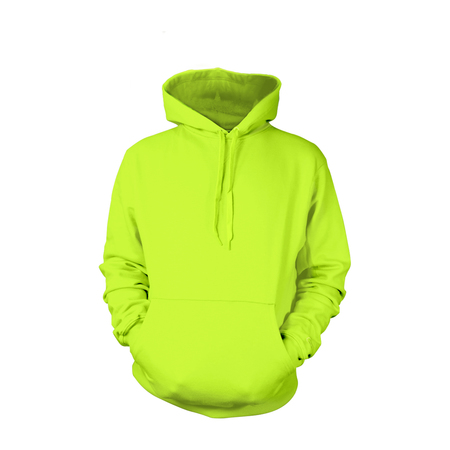 Safety Green Pull-Over Hoodies